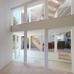 スキップフロア: 藤原・室 建築設計事務所が手掛けた階段です。
