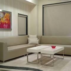 modern Living room by Chawla N Associates