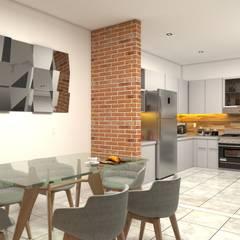 Casa para venta: Comedores de estilo  por Vintark arquitectura