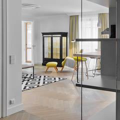 Project White - Prime Grade parquet flooring:  Floors by Unique Bespoke Wood