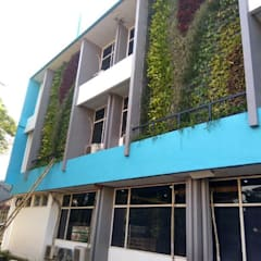 Tukang Taman Surabaya - Alam Asri Landscapeが手掛けたアプローチ