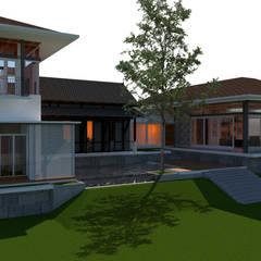 Nilai Spring Bungalow:  Houses by LI A'ALAF ARCHITECT,