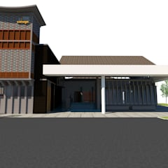 Surau:  Commercial Spaces by LI A'ALAF ARCHITECT, Modern