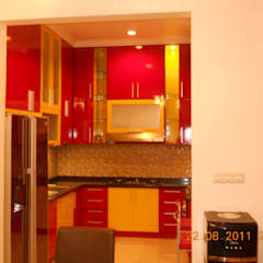 Built-in kitchens by Amirul Design & Build