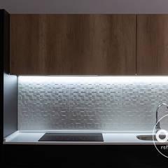 illuminación LED en cocina: Paredes de estilo  de osb reformas