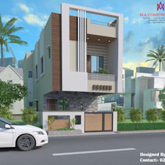 Exteriors and Architectural :  Houses by M.A Constructions