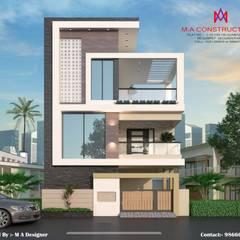 Casas de estilo  por M.A Constructions,