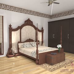 Bedroom by Interio Grafiek,