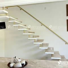 Portfólio Escadas Millenium®: Escadas  por ESCADAS MILLENIUM®