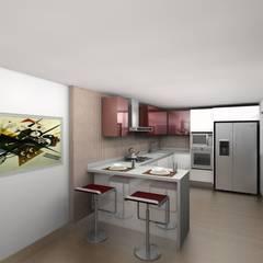 Cocinas de estilo  por Erick Becerra Arquitecto