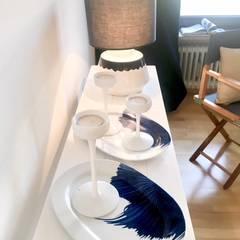 de estilo  de Münchner home staging Agentur GESCHKA, Mediterráneo