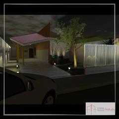 Single family home by Aúra Arqstudio