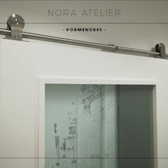 Nora Atelier - Pormenores (Desenhamos portas e ferragens por medida).: Portas  por Nora Atelier