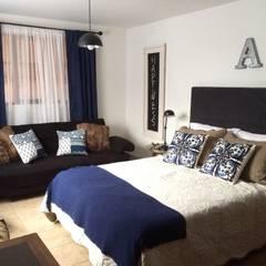 Habitación auxiliar: Habitaciones de estilo clásico por Nancy Trejos