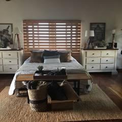 Habitación principal: Habitaciones de estilo clásico por Nancy Trejos