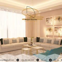 غرفة معيشة - Living room:  غرفة المعيشة تنفيذ AMS
