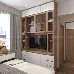 Kệ tivi Phòng ngủ :  Phòng ngủ by Công ty TNHH Nội Thất Mạnh Hệ
