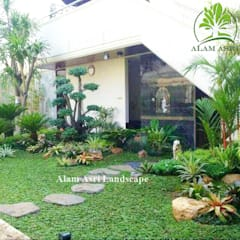 حديقة صخرية تنفيذ Tukang Taman Surabaya - Alam Asri Landscape