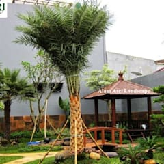 庭院池塘 by Tukang Taman Surabaya - Alam Asri Landscape