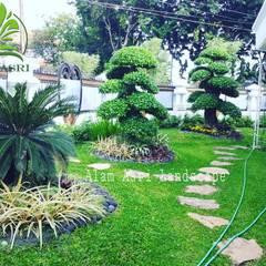 Projekty,  Podwórko zaprojektowane przez Tukang Taman Surabaya - Alam Asri Landscape