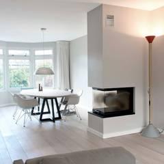 verbouwing familiewoning den haag eetkamer door atelier perspective interieurarchitectuur