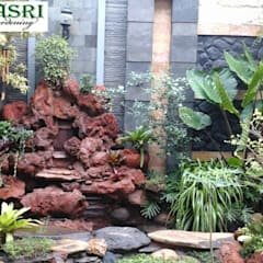 Garden Pond by Alam Asri Landscape, Classic Stone