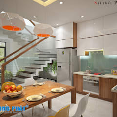 Kitchen units by Công ty thiết kế xây dựng Song Phát