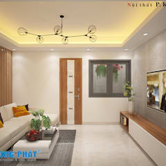 Single family home by Công ty thiết kế xây dựng Song Phát
