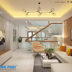 منازل تنفيذ Công ty Thiết Kế Xây Dựng Song Phát