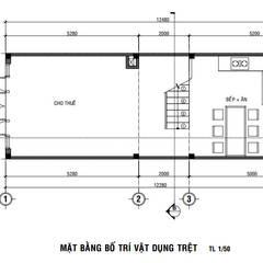 Casas de madera de estilo  por Công ty thiết kế xây dựng Song Phát