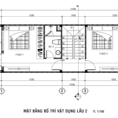 Passive house by Công ty thiết kế xây dựng Song Phát