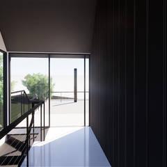 Husarö House, Altea: Pasillos y vestíbulos de estilo  de MASR | Estudio de arquitectura