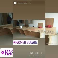 Kysper Square :  Commercial Spaces by LJ Interior Concept