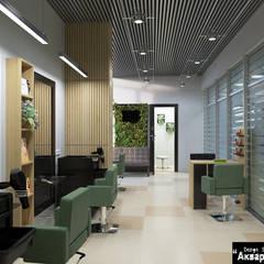 Дизайн интерьера салона красоты: Коммерческие помещения в . Автор – Дизайн студия 'Акварель'
