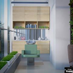 Дизайн проект салона красоты : Сауны в . Автор – Дизайн студия 'Акварель'