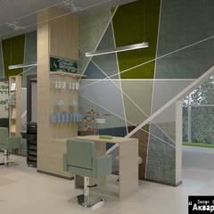 Дизайн интерьера салона красоты в современном стиле: Коммерческие помещения в . Автор – Дизайн студия 'Акварель'
