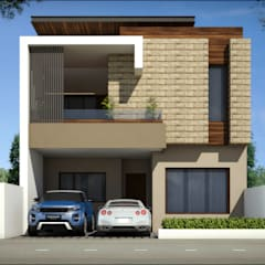 3d view of house:  Bungalows by Square Designs