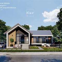 Single family home by Kor Design&Architecture