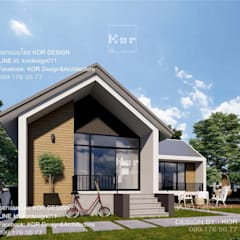 Maison individuelle de style  par Kor Design&Architecture
