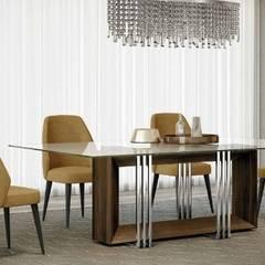 ausgefallene Esszimmer von TEXTURAS INTERIORES, Design de Interiores, Lda
