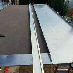 Sanierung Metalldach in Herford:  Dach von Dachdeckermeisterbetrieb Dirk Lange