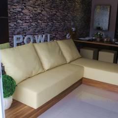 Gateway Pasteur - Tipe 2 Bedroom Jade Ruang Keluarga Minimalis Oleh POWL Studio Minimalis