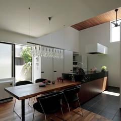乾町の家: arc-dが手掛けたキッチンです。