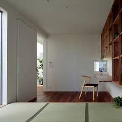 只上の家: arc-dが手掛けた書斎です。