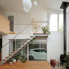 南町の家: arc-dが手掛けた階段です。