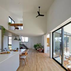 上田町の家: arc-dが手掛けたダイニングです。