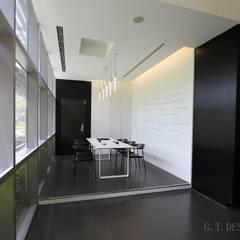 Audi cafe:  商業空間 by G.T. DESIGN 大楨室內裝修有限公司