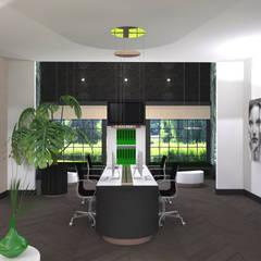 Bureau:  Kantoor- & winkelruimten door VAN VEEN Interior Design