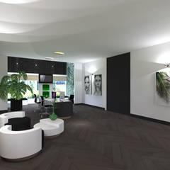 Kantoor:  Kantoor- & winkelruimten door VAN VEEN Interior Design