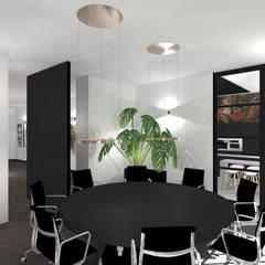 Vergaderruimte:  Kantoor- & winkelruimten door VAN VEEN Interior Design